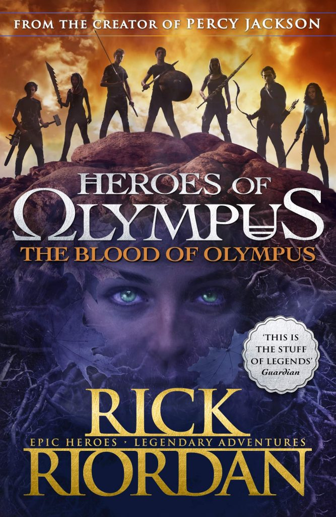 Blood of Olympus (read 2021)