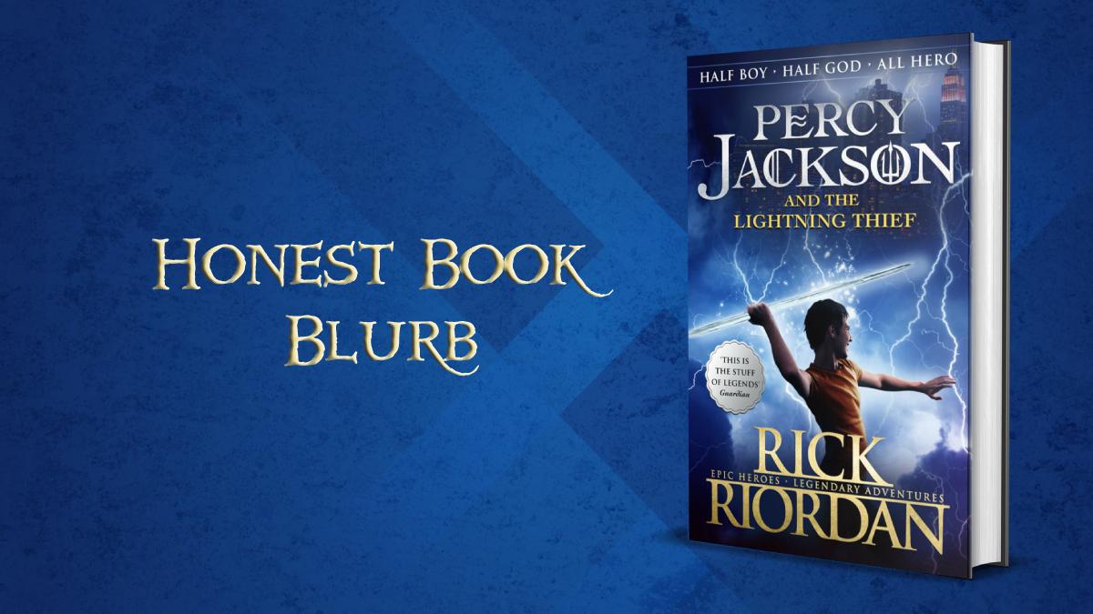 Percy Jackson Honest book blurb